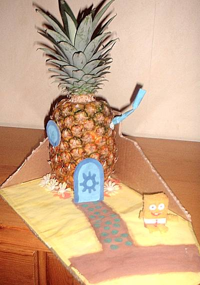 Surprise sinterklaas ananashuis sponge bob surprise for Huis maken surprise